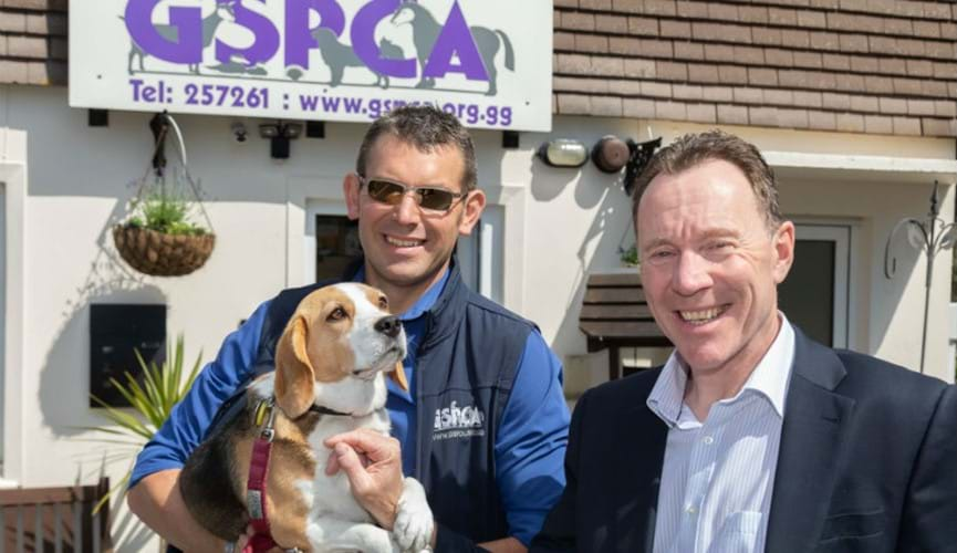 The Channel Islands Co-operative Society donates £1,500 to the GSPCA's Save Our Seals campaign