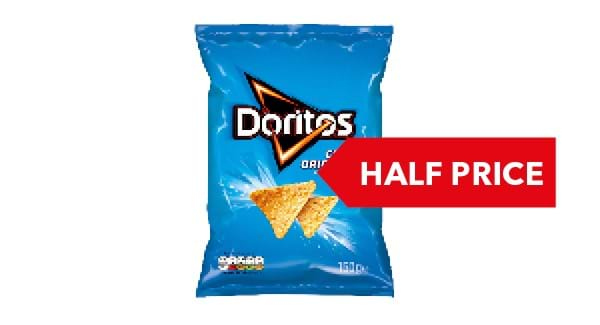 HALF PRICE | Doritos 150g