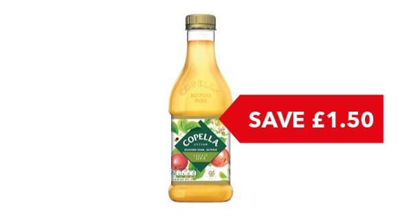 SAVE £1.50 | Copella Apple Juice 1.35 Litre