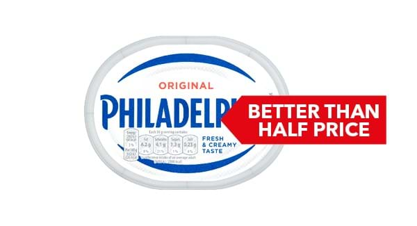 BETTER THAN HALF PRICE | Philadelphia 170g/180g