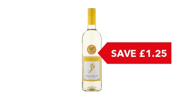 SAVE £1.25 | Barefoot 75cl