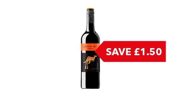 SAVE £1.50 | Yellow Tail 75cl