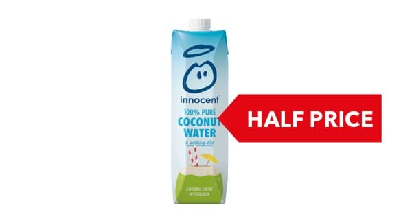 HALF PRICE |Innocent Coconut Water 1 Litre