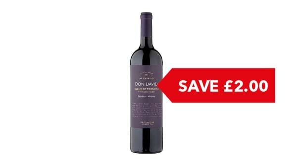 SAVE £2.00 | Don David Blend of Terroirs Malbec 75cl