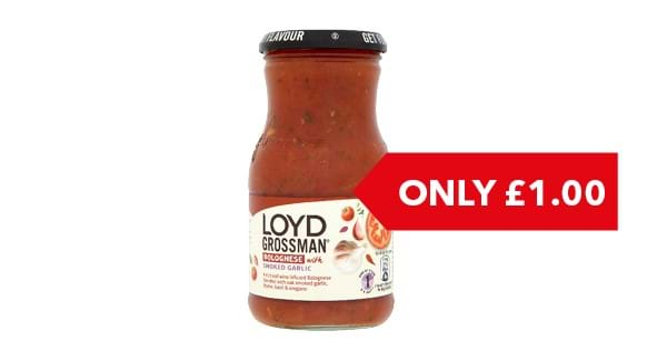 ONLY £1.00 | Loyd Grossman Italian Cooking Sauces 350g