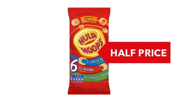 HALF PRICE | KP Hula Hoops 6 Pack