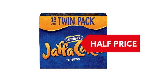 HALF PRICE | McVities Jaffa Cakes 2x9 Pack