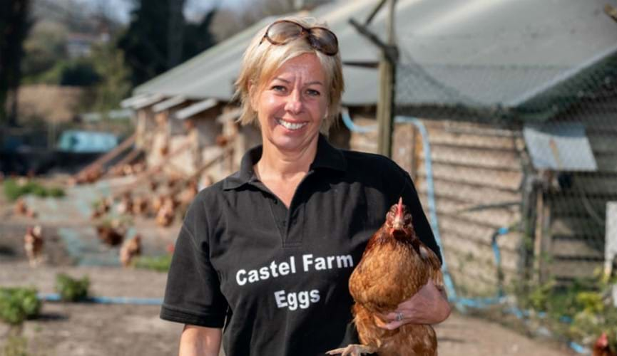 Castel Farm eggs: Meet the producer