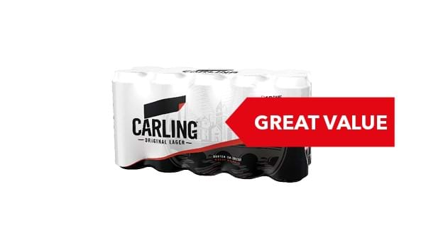 GREAT VALUE | Carling 10x440ml