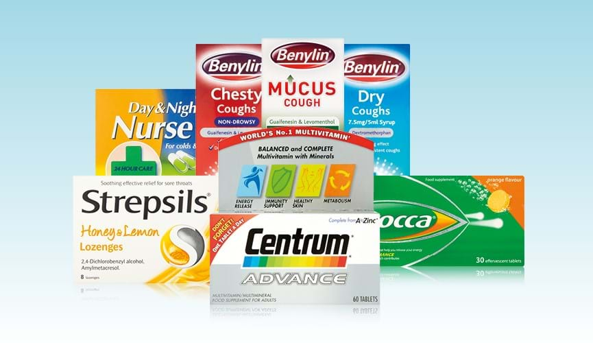 Pharmacy essentials for the cold season