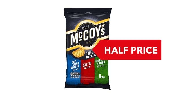 HALF PRICE | KP Real McCoys 6 Pack
