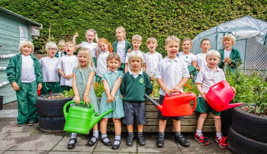 Meet St John School's green fingered gardening club