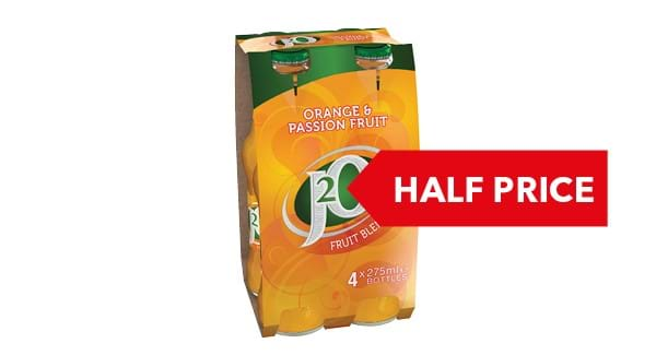 HALF PRICE | Britvic J2O 4x275ml