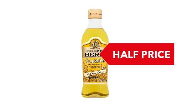 HALF PRICE | Filippo Berio Olive Oil 500ml