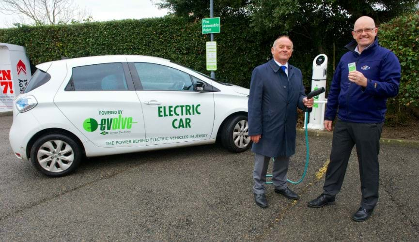 Co-op becomes the first Jersey Supermarket to offer EV charging