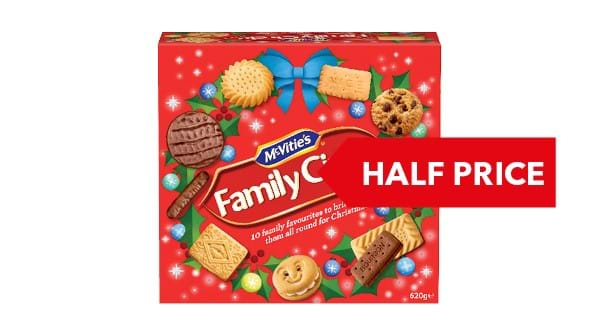 HALF PRICE | McVitie's Family Circle 620g
