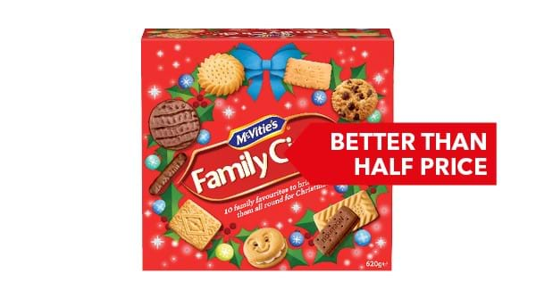BETTER THAN HALF PRICE | McVitie's Family Circle 620g