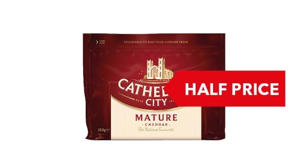 HALF PRICE | Cathedral City Cheddar 350g