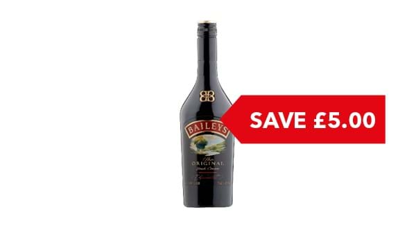 SAVE £5.00 | Baileys Original Irish Cream 1 Litre