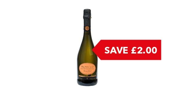SAVE £2.00 | Co-op Irresistible Prosecco 75cl