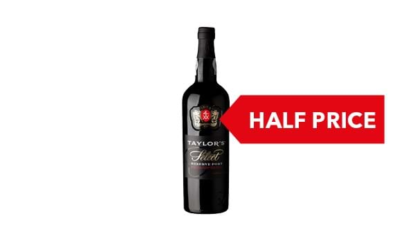 HALF PRICE | Taylor's Select Reserve Port 75cl