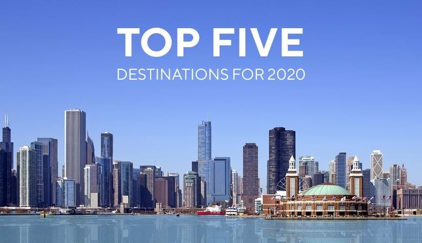 Top 5 Travel destinations for 2020