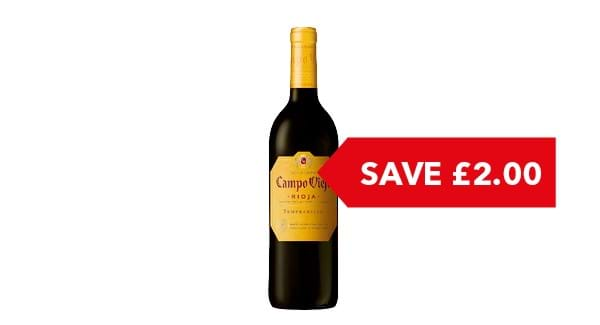 SAVE £2.00 | Campo Viejo Rioja 75cl