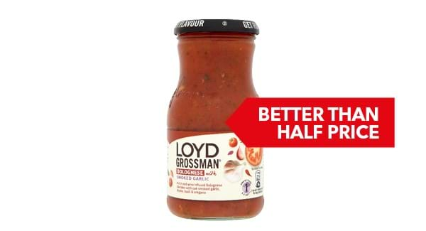 BETTER THAN HALF PRICE | Loyd Grossman Sauce 350g