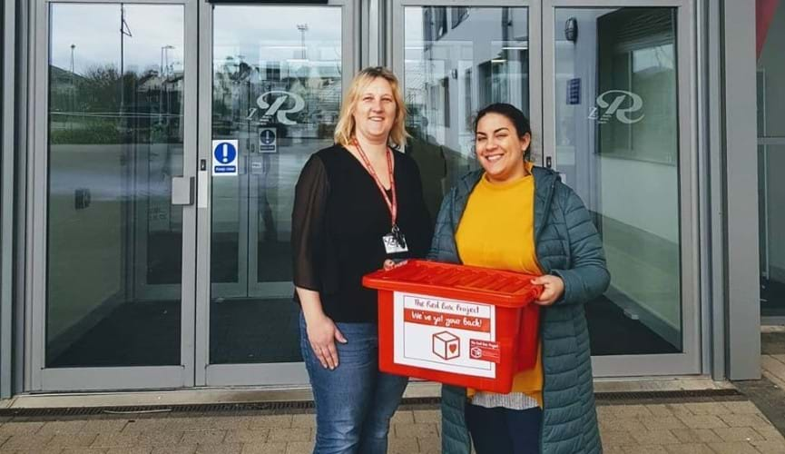 How the Co-op supported Jersey's Red Box Project