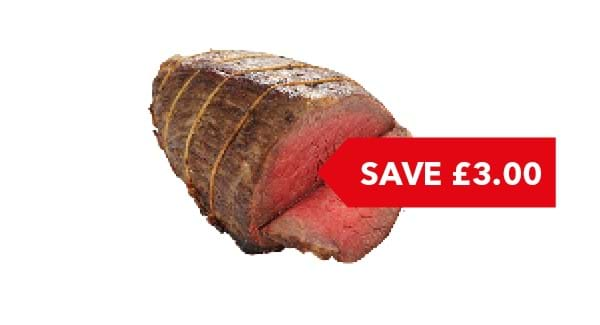SAVE £3.00 | Co-op Irresistible Beef Joint Per Kg