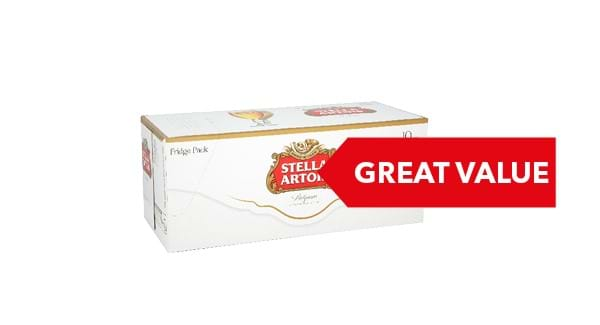 GREAT VALUE | Stella Artois 10x440ml