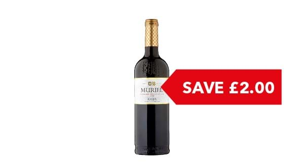 SAVE £2.00 | Muriel Tempranillo Rioja 75cl