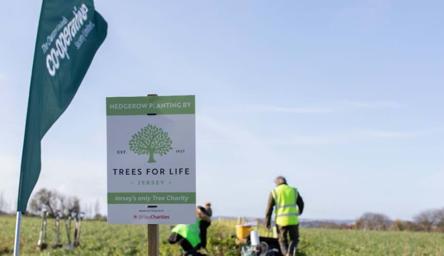 Jersey Trees for Life : Meet the community champion