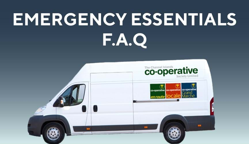 Essential emergency deliveries FAQs