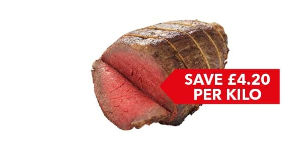 SAVE £4.20 PER KILO | Co-op Beef Roasting Joint Per KG