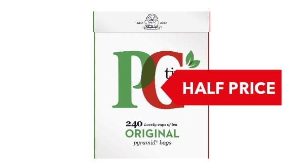 HALF PRICE | PG Tips 240 Bags