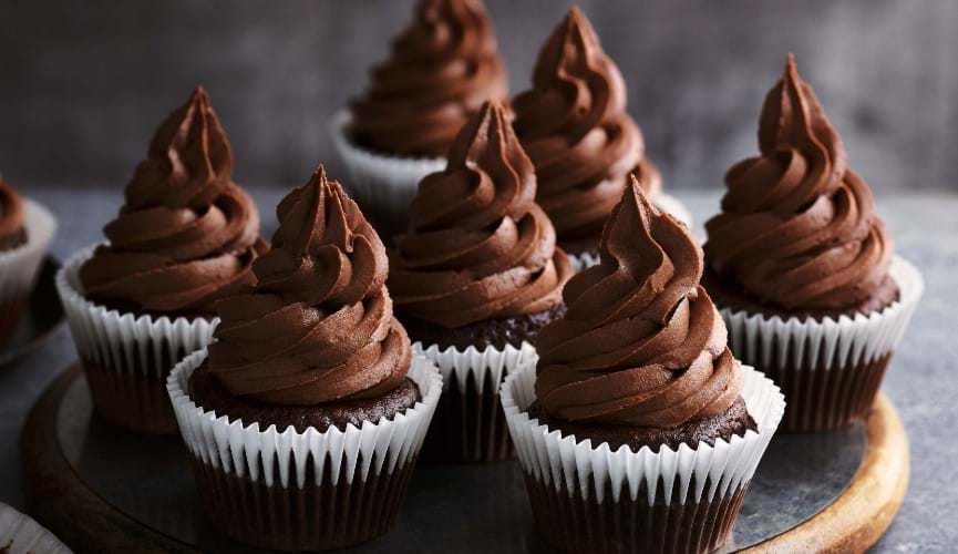 Ultimate vegan chocolate cupcakes