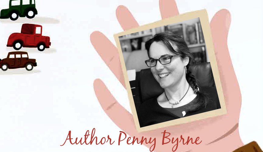Jersey-based author Penny Byrne