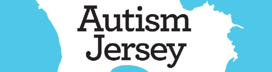 Autism Jersey blue ribbons