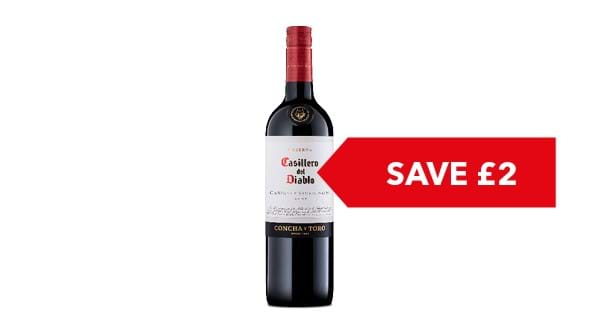 SAVE £2.00 | Casillero Del Diablo 75cl