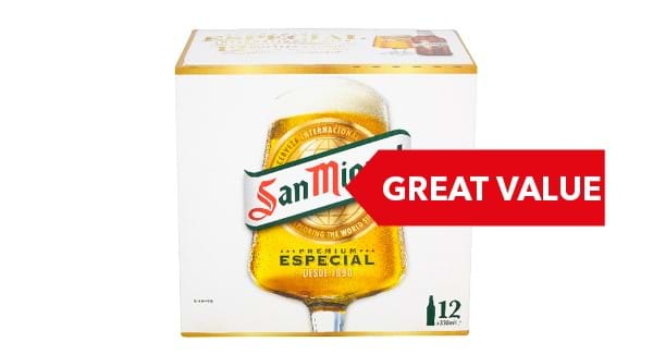 GREAT VALUE | San Miguel 12x330ml