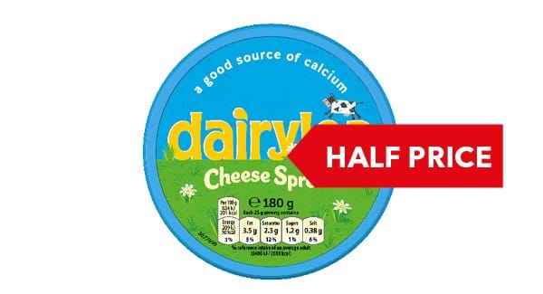 HALF PRICE | Dearylea Cheese Spread 180g