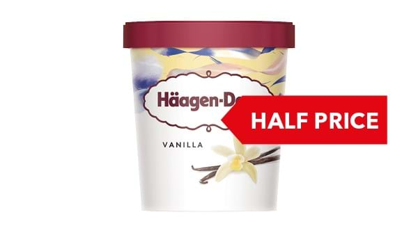 HALF PRICE | Häagen-Dazs Ice Cream 460ml
