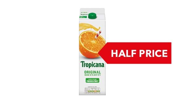 HALF PRICE | Tropicana Orange 950ml