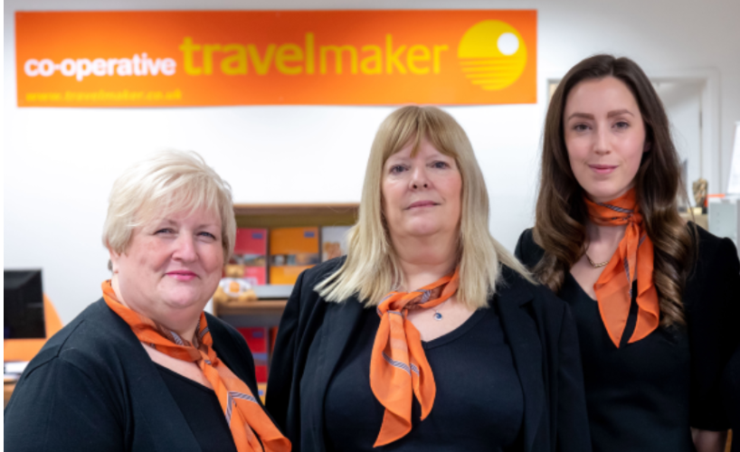 Irene, Sandy and Shaunie of Travelmaker Guernsey