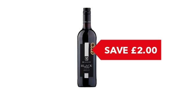 SAVE £2.00 | McGuigan Black Label Shiraz 75cl