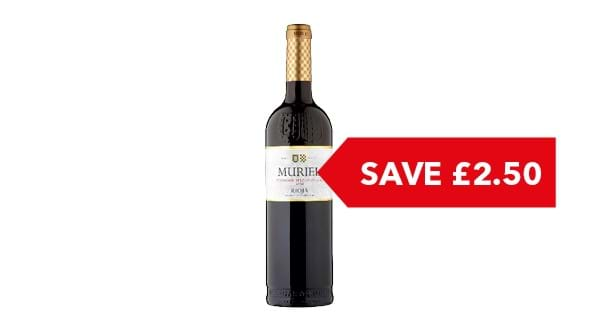 SAVE £2.50 | Muriel Tempranillo Rioja 75cl
