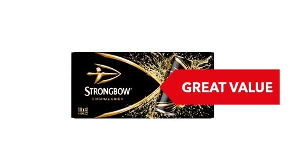 GREAT VALUE | Strongbow Original 10x440ml