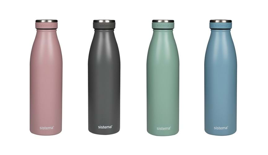 Sistema stainless steel bottle 500m