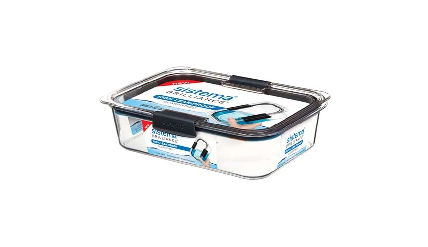Sistema Brilliance large rectangle container